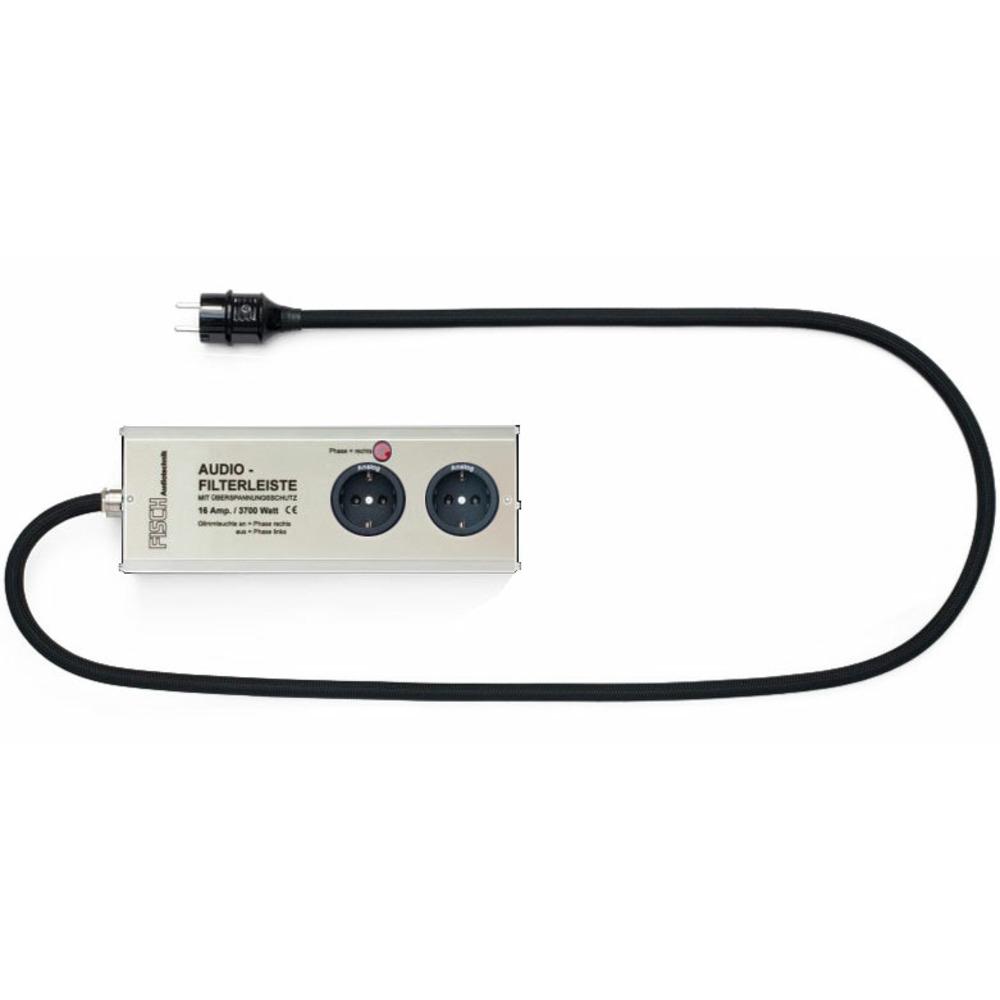 Сетевой фильтр Fisch Audiotechnik AFL-162-0200-S Silver