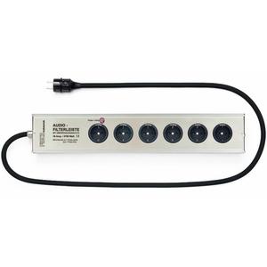 Сетевой фильтр Fisch Audiotechnik AFL-166-0420-S Silver