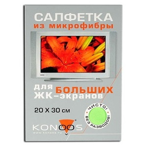 Салфетка из микрофибры для ЖК-телевизоров Konoos KT-1