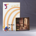 Кабель аудио 2xRCA - 2xRCA Van Den Hul The ROCK Hybrid (3T) RCA 0.8m