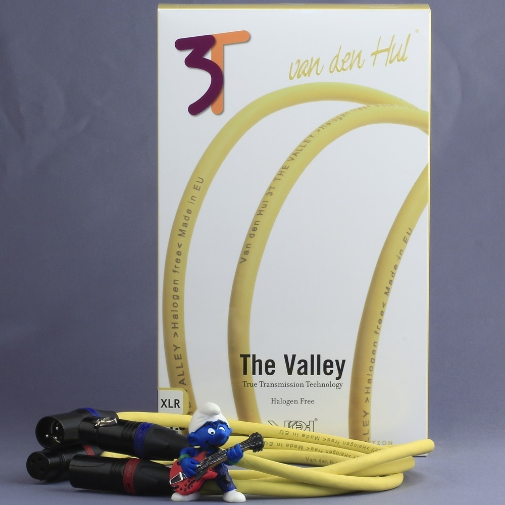 Кабель аудио 2xXLR - 2xXLR Van Den Hul The VALLEY (3T) XLR 1.0m