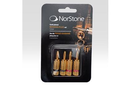 Разъем Банана Norstone Banana Plugs Gold Set-4