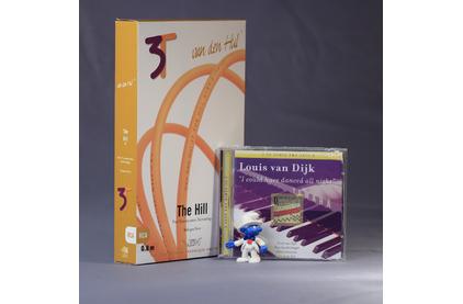 Кабель аудио 2xRCA - 2xRCA Van Den Hul The HILL Hybrid (3T) RCA 1.0m