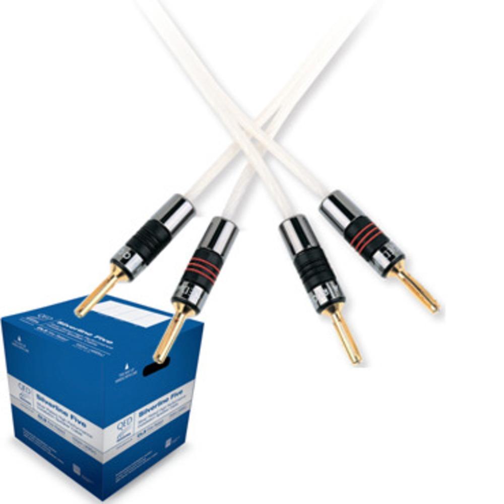 Кабель акустический QED (QE4100) Professional SilverLine Five