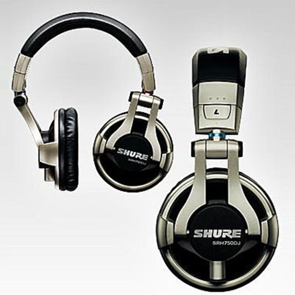 Наушники Shure SRH750DJ