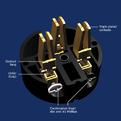Разъем IEC C15 Wattgate 350i AU Black