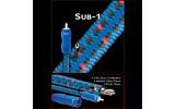 Кабель сабвуферный 1xRCA - 1xRCA Audioquest Sub-1  15.0 m