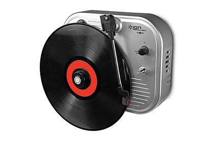Проигрыватель виниловых дисков ION Audio VERTICAL VINYL