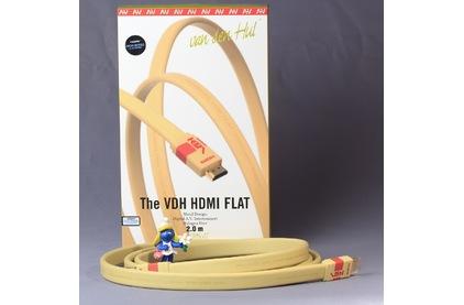 Кабель HDMI - HDMI Van Den Hul HDMI Flat HEAC 1.0m
