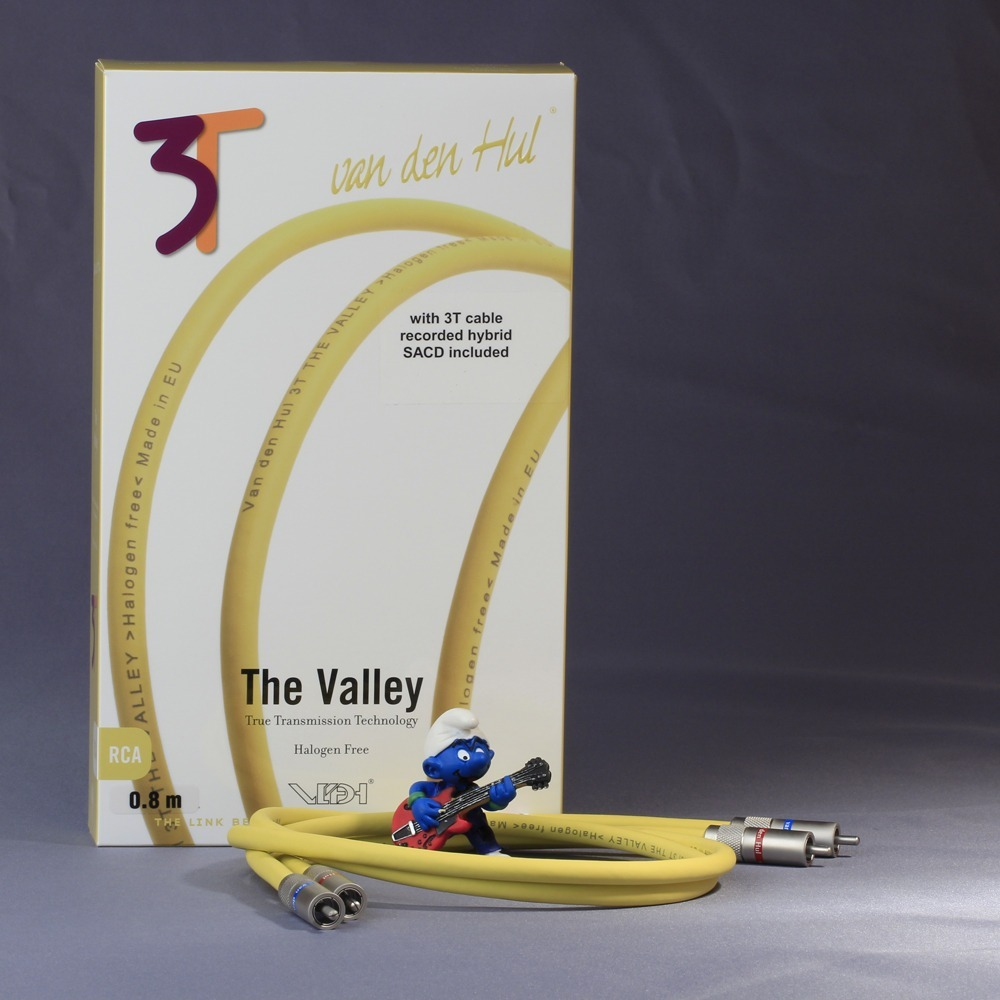 Кабель аудио 2xRCA - 2xRCA Van Den Hul The VALLEY (3T) RCA 1.0m