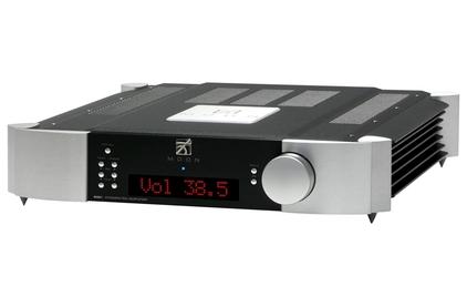 Усилитель интегральный SIMaudio Moon 600i Red Display Black