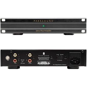 Фонокорректор MM/MC Parasound Zphono Black