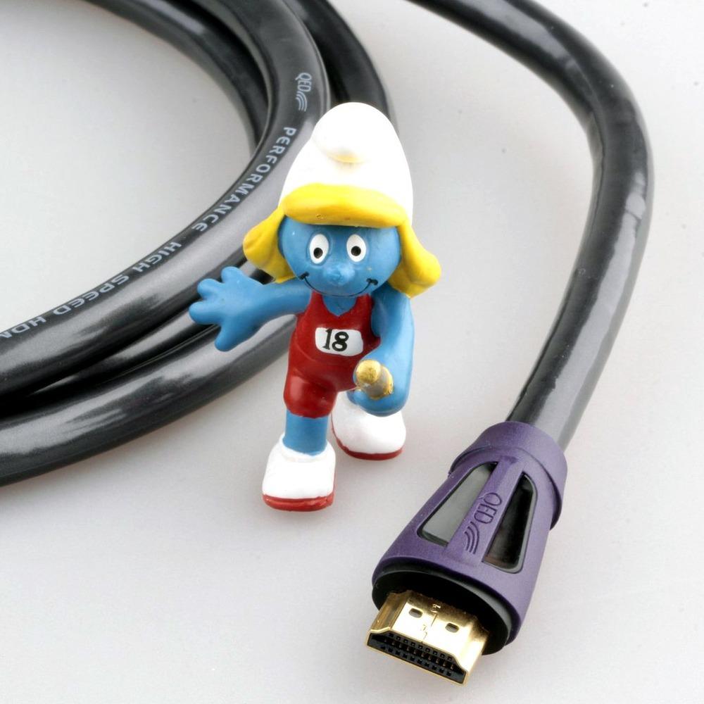 Кабель HDMI - HDMI QED (QE6005) Performance HDMI Graphite 0.6m