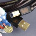 Кабель USB 2.0 Тип A - B Kimber Kable B BUS Cu 1.5m