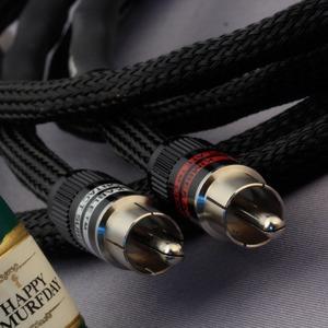 Кабель аудио 2xRCA - 2xRCA Kimber Kable HERO Ultraplate Black 1.0m