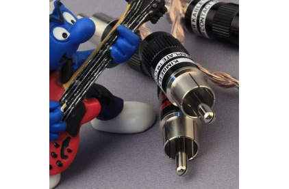 Кабель аудио 2xRCA - 2xRCA Kimber Kable Timbre Ultraplate Black 1.5m