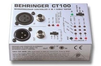 Тестер для проверки кабеля BEHRINGER CT 100