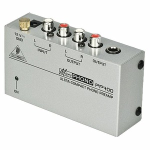 Фонокорректор MM/MC BEHRINGER PP 400 MICROPHONO