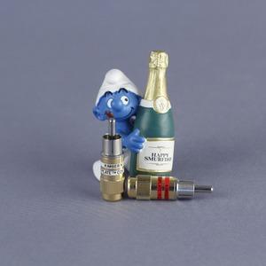 Разъем RCA (Папа) Kimber Kable Ultraplate