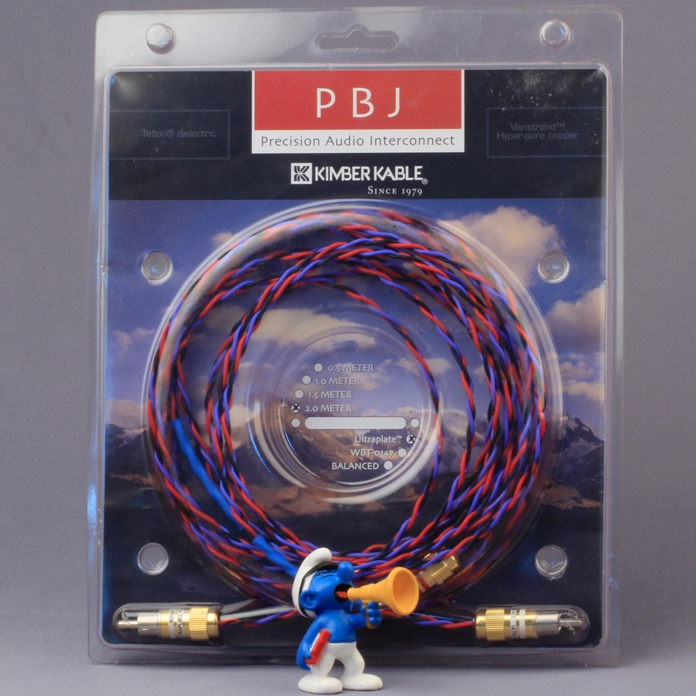 Кабель аудио 2xRCA - 2xRCA Kimber Kable PBJ Ultraplate 1.5m