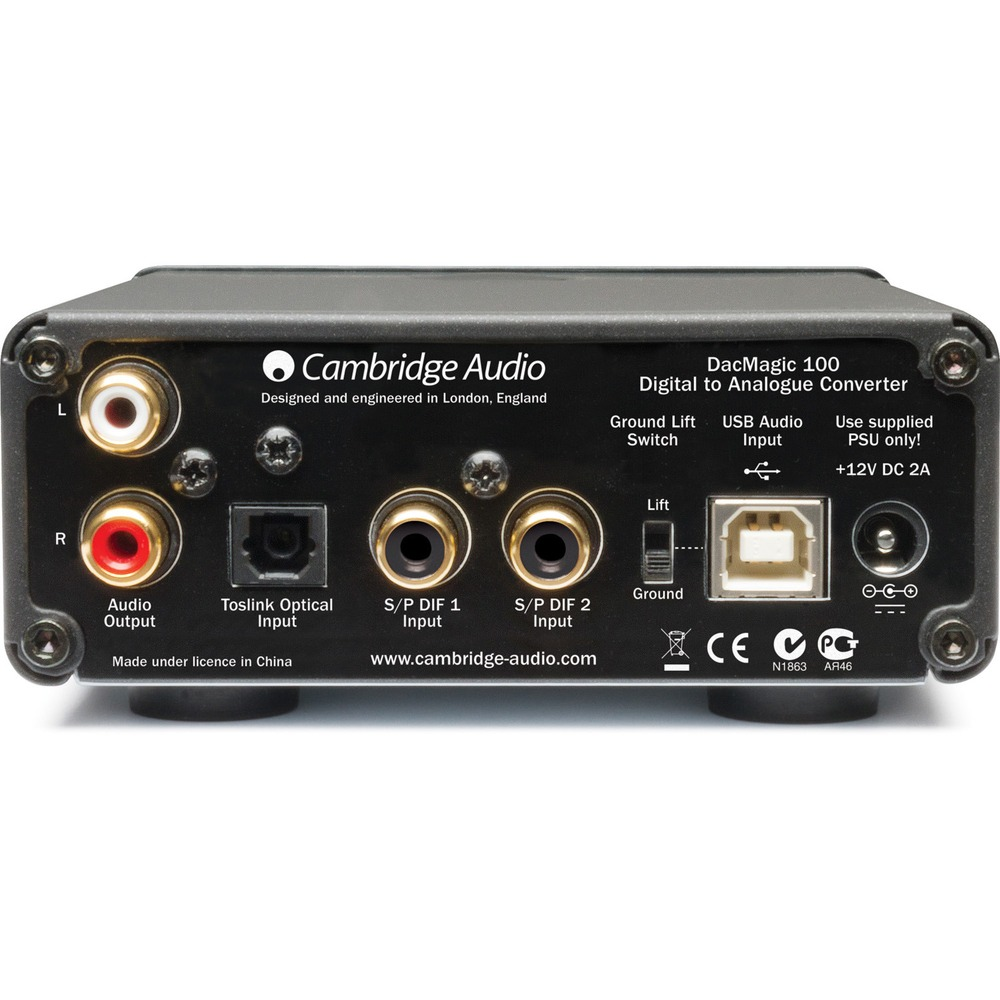 ЦАП транзисторный Cambridge Audio DACMagic 100 Silver