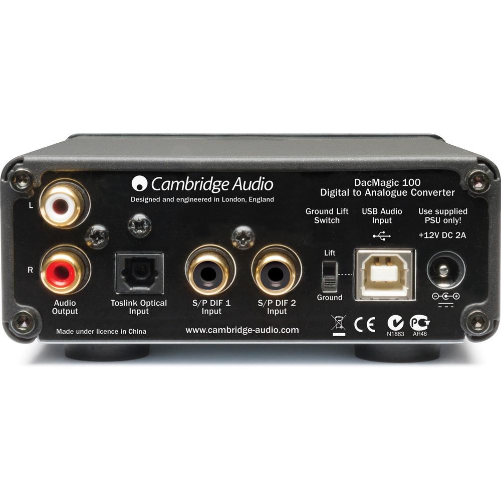ЦАП транзисторный Cambridge Audio DACMagic 100 Black