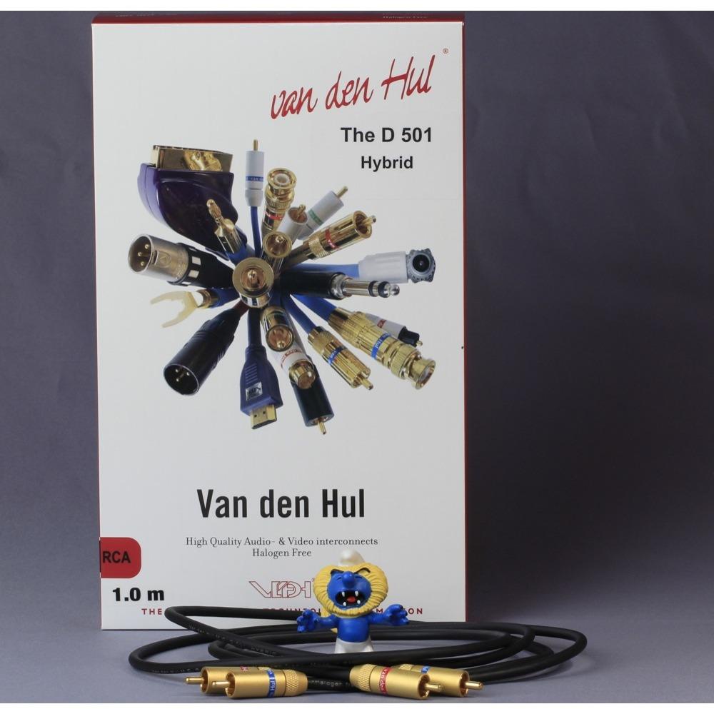 Кабель Phono 2xRCA - 2xRCA Van Den Hul D-501 Hybrid RCA 1.0m