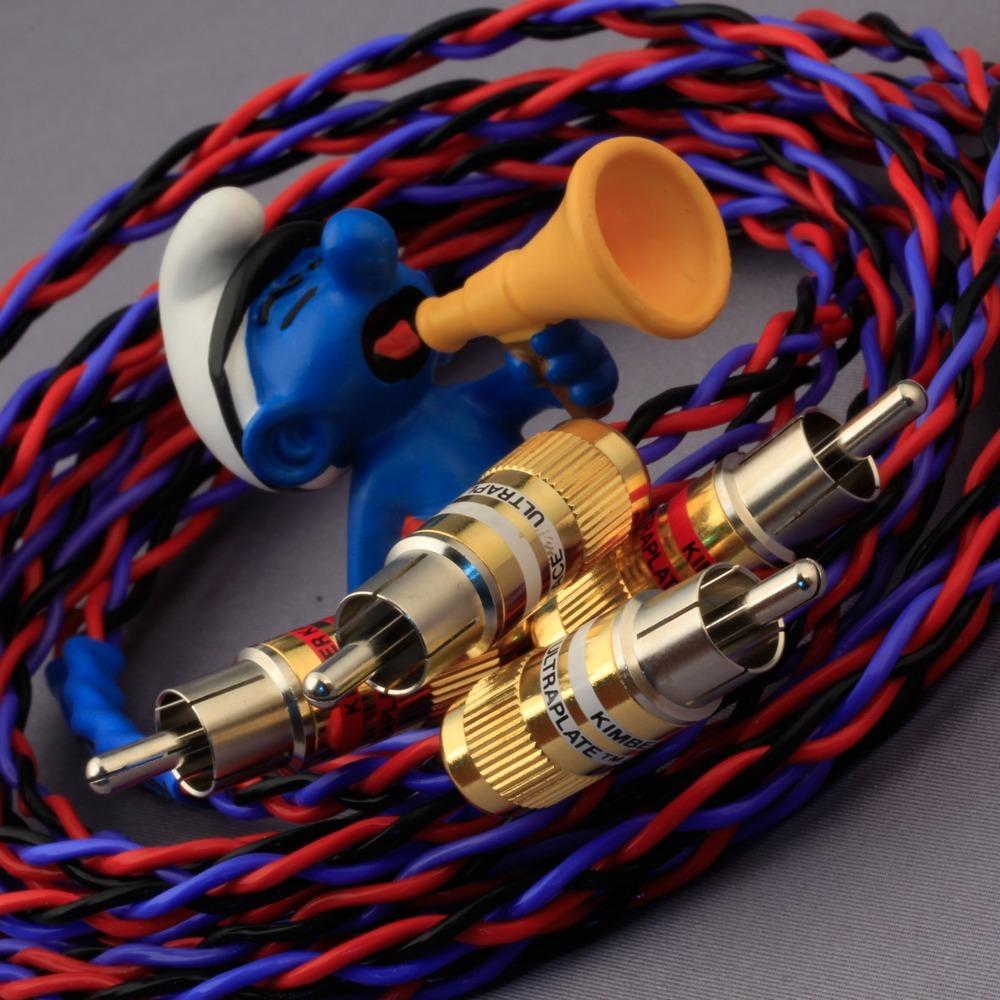 Кабель аудио 2xRCA - 2xRCA Kimber Kable PBJ Ultraplate 2.0m