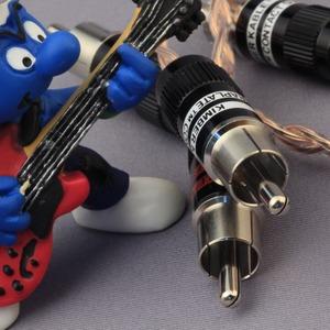 Кабель аудио 2xRCA - 2xRCA Kimber Kable Timbre Ultraplate Black 3.0m