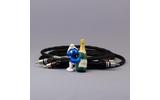 Кабель аудио 2xRCA - 2xRCA Kimber Kable HERO Ultraplate Black 3.0m
