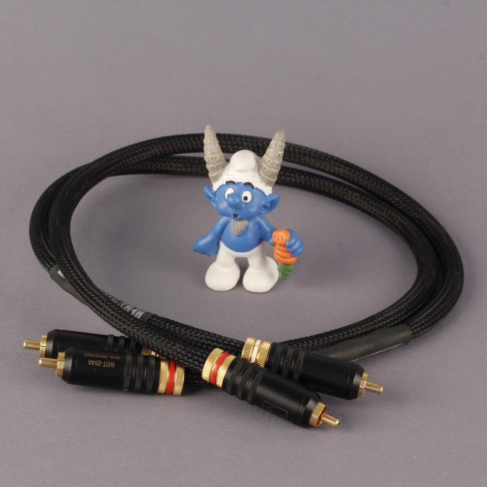 Кабель аудио 2xRCA - 2xRCA Kimber Kable HERO WBT-0144 2.0m