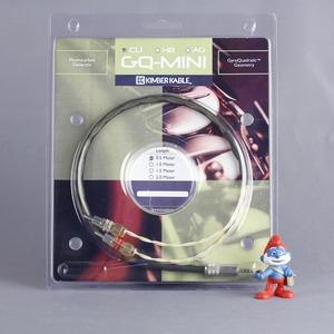 Кабель аудио 1xMini Jack - 2xRCA Kimber Kable GQ Mini Cu Ultraplate 2.0m