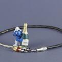 Кабель аудио 1xMini Jack - 2xRCA Kimber Kable GQ Mini Cu Ultraplate 3.0m