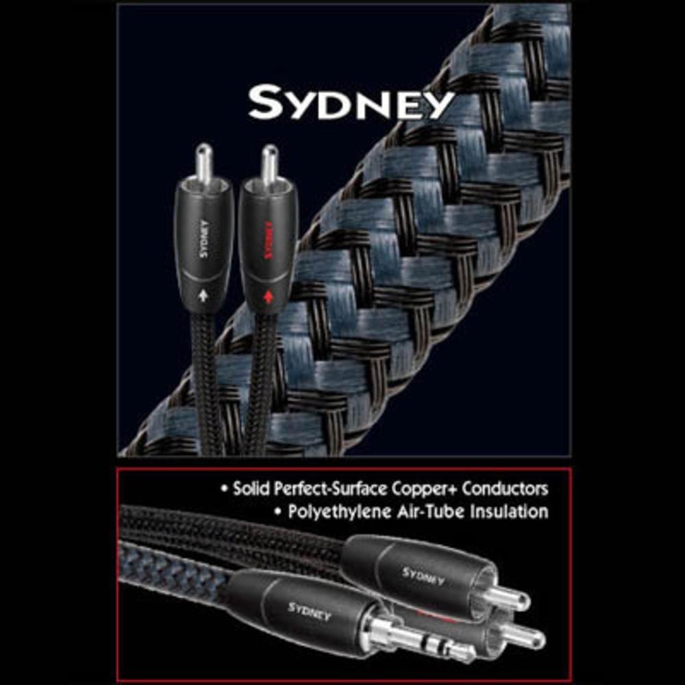 Кабель аудио 2xRCA - 2xRCA Audioquest Sydney 2RCA-2RCA 1.0m
