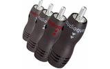 Разъем RCA (Папа) Audioquest RCA-800 Set of 4