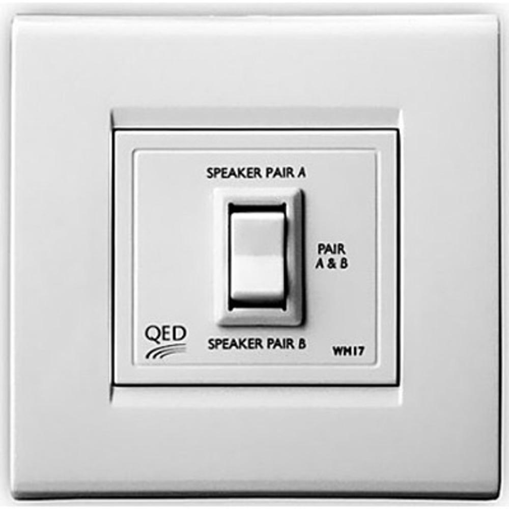 Спикерселектор QED (A-WM17) Speaker Switch WM17