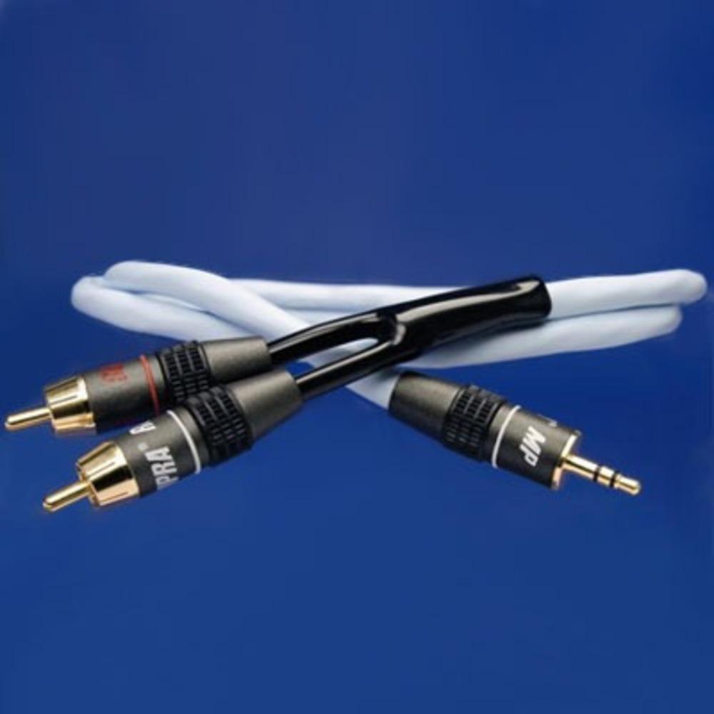 Кабель аудио 1xMini Jack - 2xRCA Supra BiLine-MP 2.0m