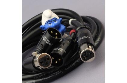 Кабель аудио 2xXLR - 2xXLR DH Labs Pro Studio Interconnect XLR 1.0m