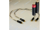 Кабель аудио 2xRCA - 2xRCA Abbey Road Cable Reference BULLET PLUG RCA 1.0m