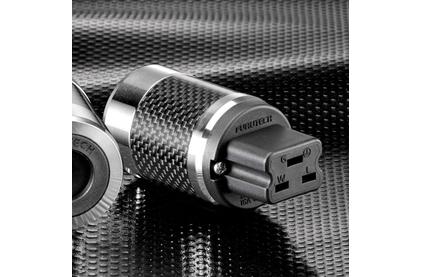Разъем IEC C19 Furutech FI-52(R) Carbon