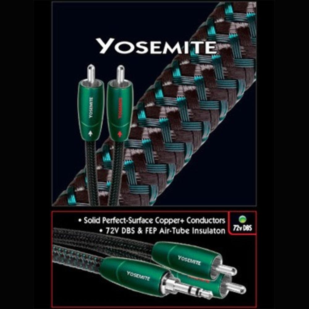 Кабель аудио 2xRCA - 2xRCA Audioquest Yosemite 2RCA-2RCA 1.0m