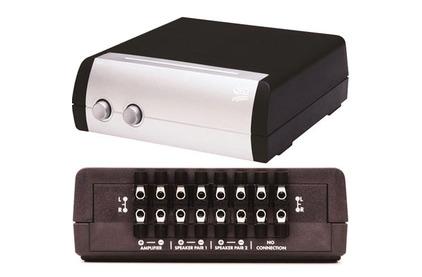 Спикерселектор QED (A-SS20) 2 Way Speaker Switch SS20