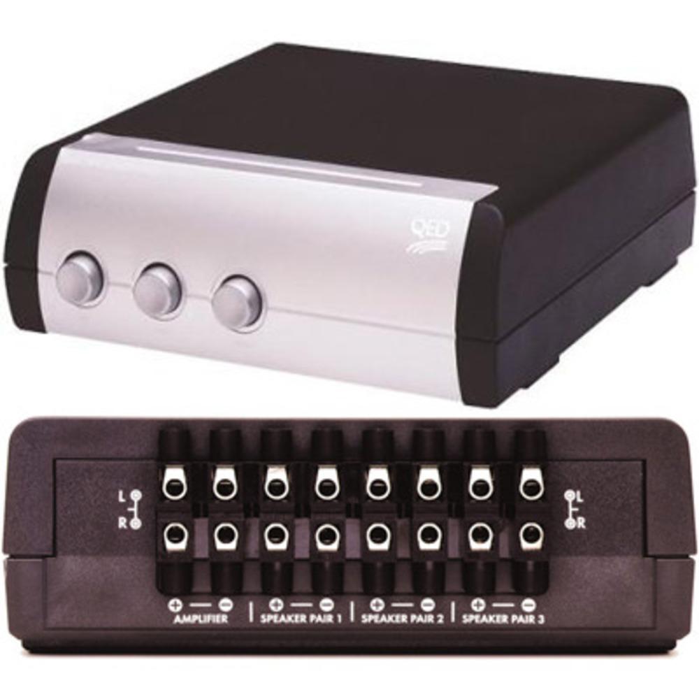 Спикерселектор QED (A-SS30) 3 Way Speaker Switch SS30