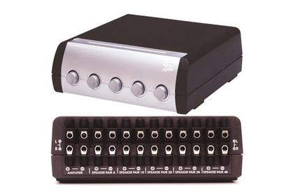 Спикерселектор QED (A-SS50) 5 Way Transmatch Speaker Switch SS50