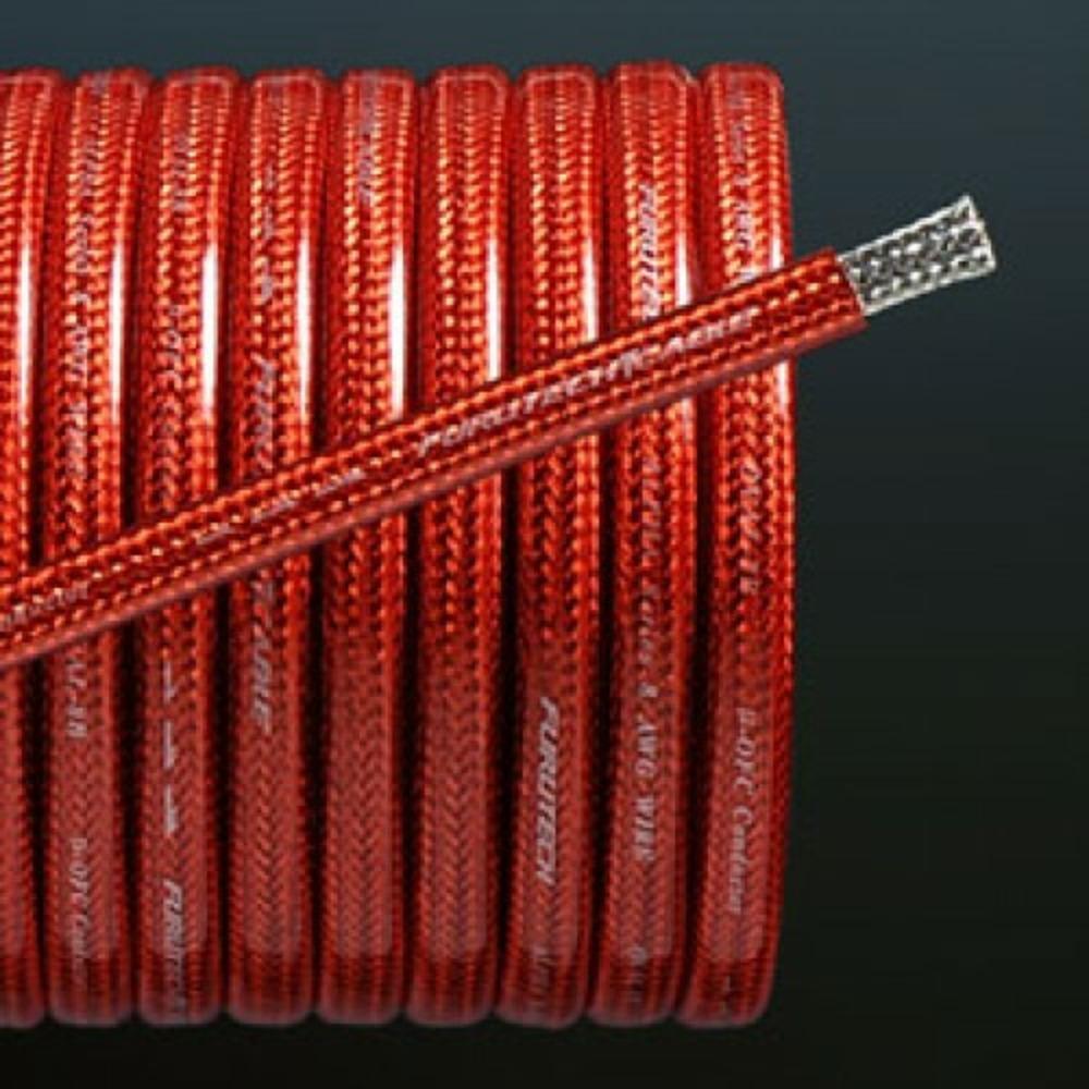 Аккумуляторный кабель в нарезку Furutech OVAL-2B Red