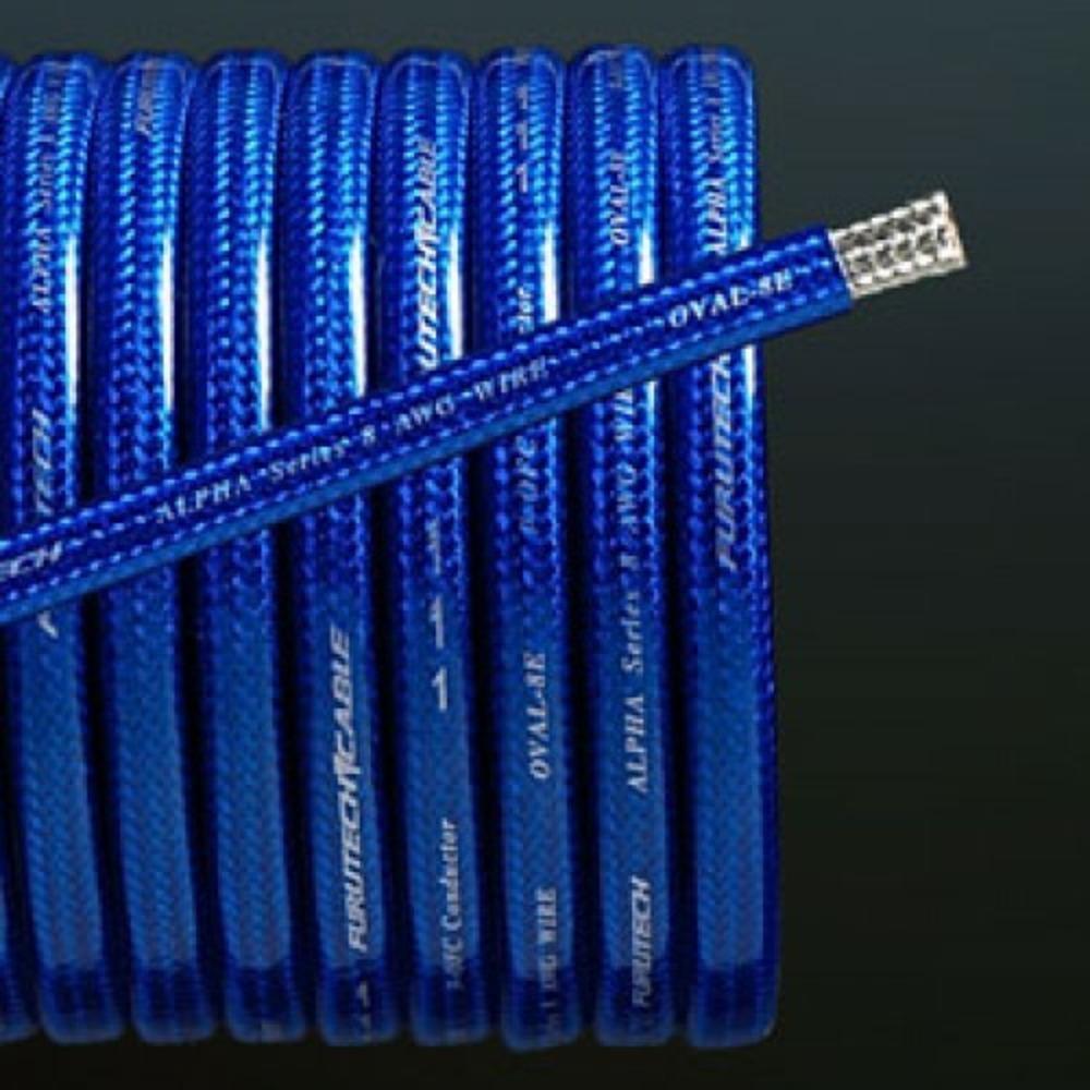 Аккумуляторный кабель в нарезку Furutech OVAL-4E Blue