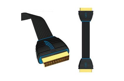 Кабель видео SCART QED (QE5040) Profile SCART 1.0m