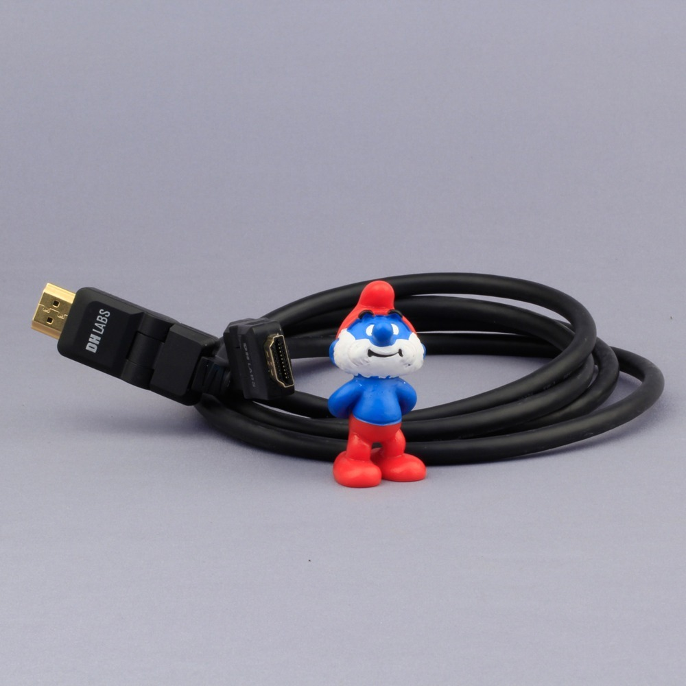 Кабель HDMI - HDMI DH Labs HDMI 1.4 Cable with Ethernet 0.5m