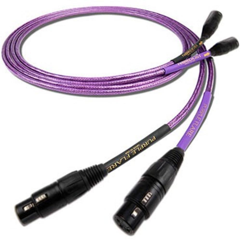 Кабель аудио 2xXLR - 2xXLR Nordost Purple Flare (Leif Series) XLR 0.6m