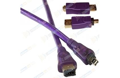 Кабель IEEE 1394 4pin - 6pin QED (QE5260) Profile FireWire 2.0m